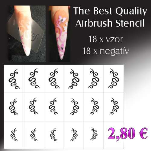 The Best Qiality Airbrush Stencil