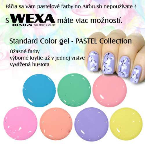 Pastel UV Color Gel