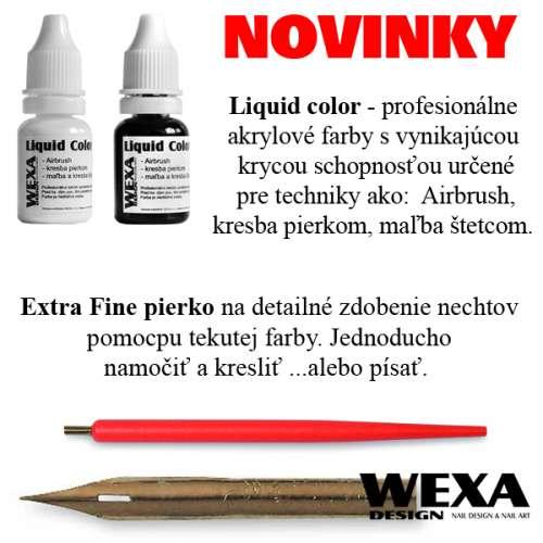 Liquid Color - akrylové farby na nechty