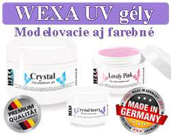 WEXA desig UV gély made in Germany