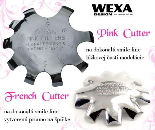 French cutter na tvorbu akrylovej smile line