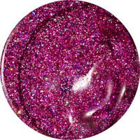 Farebný Glamour Glitz UV gél - Sindibad