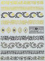 Luxury vodolepky gold L221