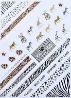 Luxury vodolepky silver L013 - Safari