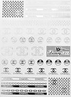 Luxury vodolepky silver L211 - Chanel