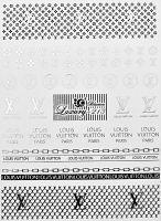 Luxury vodolepky silver L213 - Louis Vuitton