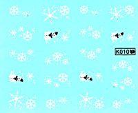 Vodolepky Zimné K010 vločky