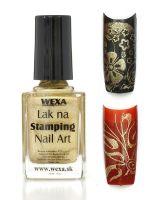 WEXA Stamping lak - Metallic Sand