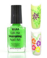 WEXA Stamping lak - Neon Green