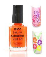 WEXA Stamping lak - Neon Orange