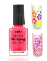 WEXA Stamping lak - Neon Pink