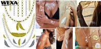 Flash Metallic Tattoo - YS012