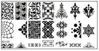 Stamping Nail Art platnička JQ-L03