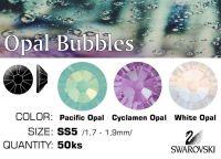 Swarovski F - Opal Bubbles