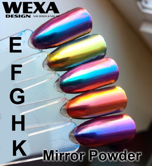 Mirror Powder Flip Flop WEXA