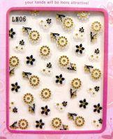 Nálepky kamienkové - LN06 gold