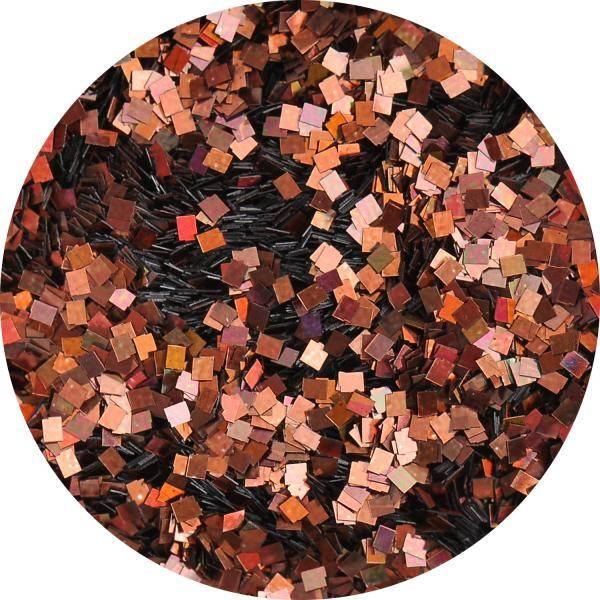 Konfety štvorčeky mini - 23 metal hologram čokoládové