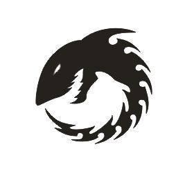 Tattoo šablónka - Shark circle
