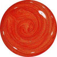 Farebný Glamour UV gel - Red Sun