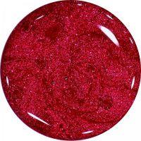 Farebný Glamour Glitz UV gél - Magenta