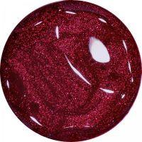 Farebný Glamour Glitz UV gél - Dark Pink