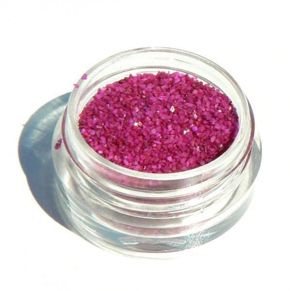 Deco piesok - 5 tmavo ružový