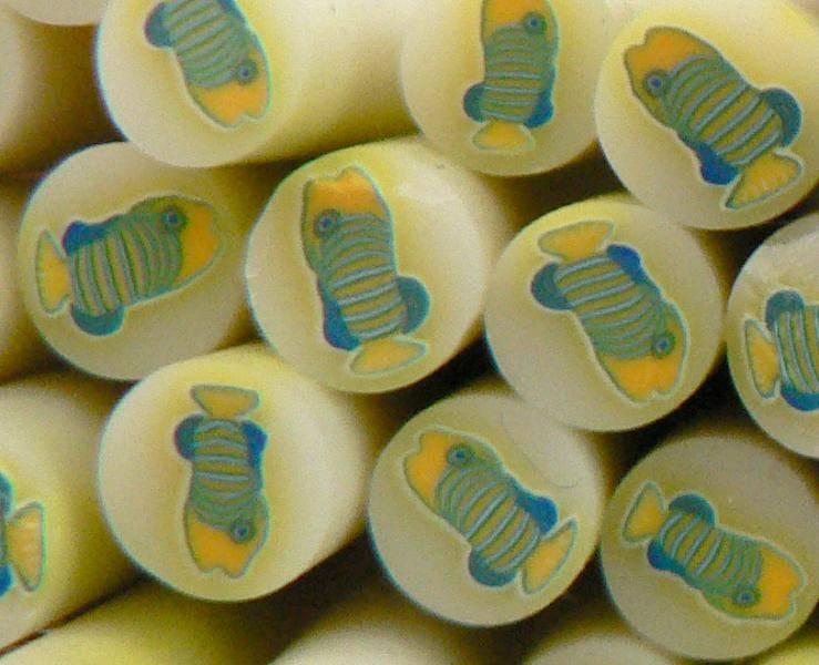 FIMO tyčinka - Rybka ponožková