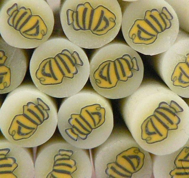 FIMO tyčinka - Rybka žltočierna