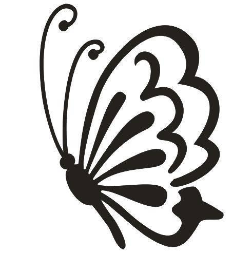 Tattoo šablónka - Butterfly-175