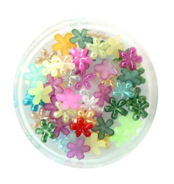Konfety kvetinky perlové - MIX