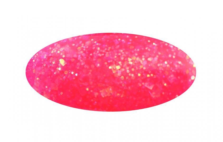 Farebný trblietavý akrylový prášok na modeláciu zdobených akrylových nechtov