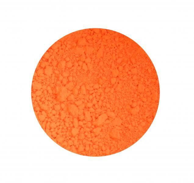 Pigment na nechty - 10 Neon red orange