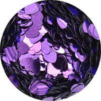 Konfety srdiečka plné slim - 4. tmavofialové metal