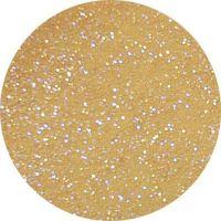 Farebný akryl trblietavý - G clear gold glitter
