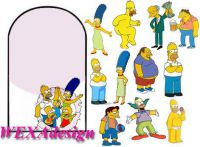 Nail Tattoos - Simpsons Adult - 112