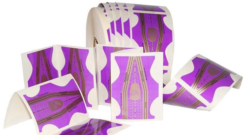 Šablóny na modeláciu nechtov - Gothik Stiletto