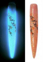 Fosfor gél -  14 oranžová clear/biela