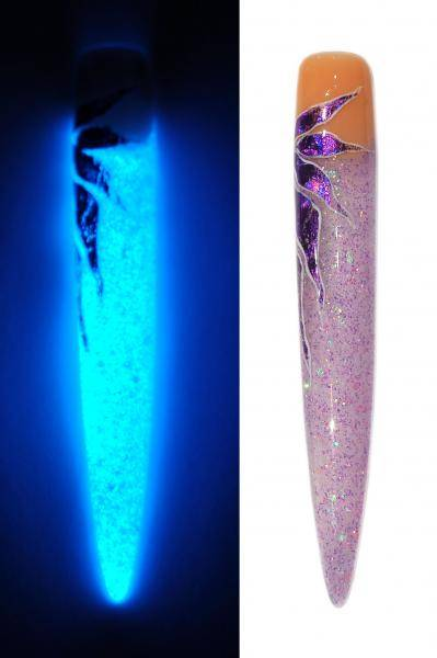 Fosforový UV gél na zdobenie nechtov