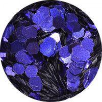 Konfety hexagony plné - BO715