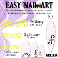 Easy Nail Art č. 3 - žltá