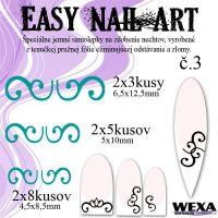 Easy Nail Art č. 3 - tmavotyrkysová