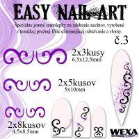 Easy Nail Art č. 3 - fialová