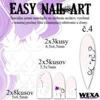 Easy Nail Art č. 4 - biela