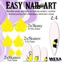 Easy Nail Art č. 4 - žltá