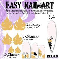 Easy Nail Art č. 4 - zlatá