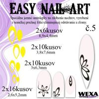 Easy Nail Art č. 5 - žltá