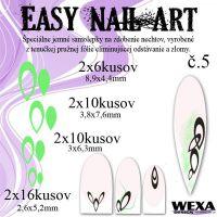 Easy Nail Art č. 5 - bledozelená