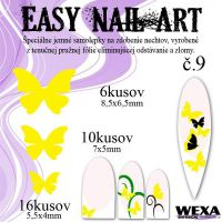 Easy Nail Art č. 9 - žltá