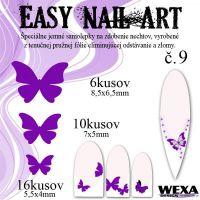 Easy Nail Art č. 9 - fialová