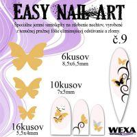Easy Nail Art č. 9 - zlatá
